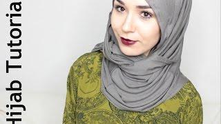 getlinkyoutube.com-Hijab Tutorial | 4 Styles with Loop Scarf @NABIILABEE