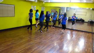 getlinkyoutube.com-CT Shuffle (by Fred Whitehouse and Darren Bailey) - Line Dance
