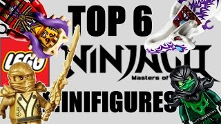 getlinkyoutube.com-TOP 6 LEGO Ninjago Minifigures OF ALL TIME!