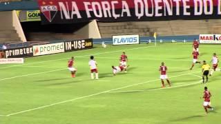 Atlético e Anapolina ficam no empate.