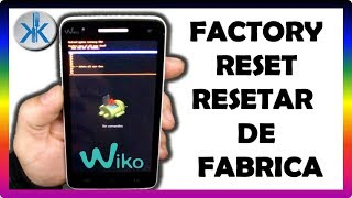 👍✔ Wiko Rainbow recovery & Factory reset , hard reset, Como formatear de fabrica