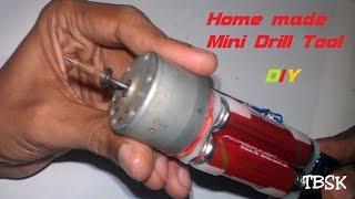 getlinkyoutube.com-How to make a Drilling machine at Home