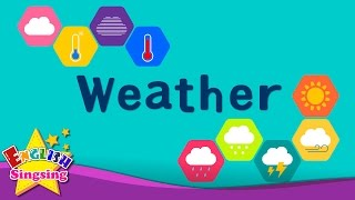 getlinkyoutube.com-Kids vocabulary - Weather - How's the weather? - Learn English for kids - English educational video