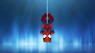 getlinkyoutube.com-Spiderman in vanilla Minecraft | ONLY ONE COMMAND BLOCK (1.8)