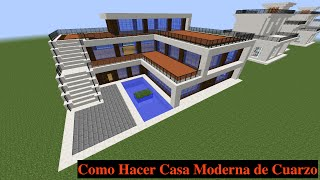 getlinkyoutube.com-Como Hacer una Casa Moderna en Minecraft (PT1)