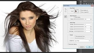 getlinkyoutube.com-Photoshop - How to take Advance Hair Selection with Mask