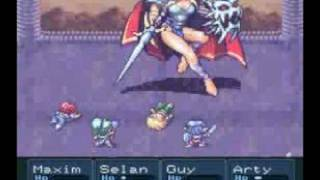 getlinkyoutube.com-Lufia 2 - Battle with Danger Nose (Erim)