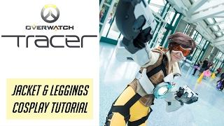 Tracer Cosplay Tutorial - Jacket & Leggings