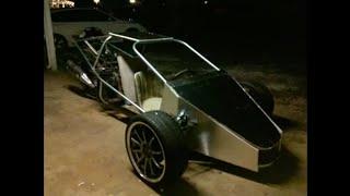 getlinkyoutube.com-Silvering trex style reverse trike project steps