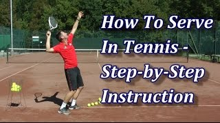 getlinkyoutube.com-How To Serve In Tennis In 7 Steps