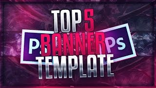 TOP 5 FREE YouTube Banner Templates #2 | FREE DOWNLOAD (2016)