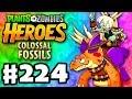 Stompadon Legendary! - Plants vs. Zombies: Heroes - Gameplay Walkthrough Part 224