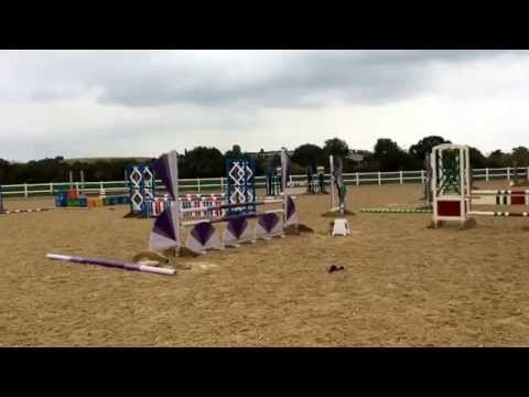 Le Bamba and i show jump training with an unexpected refusal