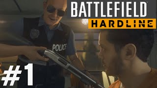 getlinkyoutube.com-Battlefield Hardline Gameplay Walkthrough Part 1 (Prologue & Ep. 1) Single Player Campaign