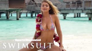 Gigi Hadid, Rose Bertram & Bo Krsmanovic In Tahiti | Tanlines | Sports Illustrated Swimsuit