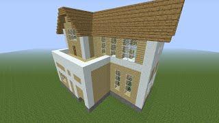 getlinkyoutube.com-【Minecraft】初心者でも簡単に作れる家!【2軒目】