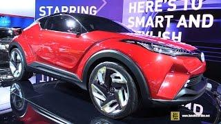 getlinkyoutube.com-Scion C-HR Concept - Exterior Walkaround - 2016 Detroit Auto Show