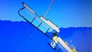 getlinkyoutube.com-Titanic Physics mit Algodoo