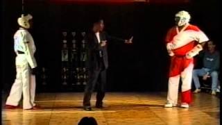 getlinkyoutube.com-Brett Hart vs Terry Creamer at 1997 Mile High Karate Tournament
