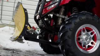 getlinkyoutube.com-arctic cat 550h1 plow hook up