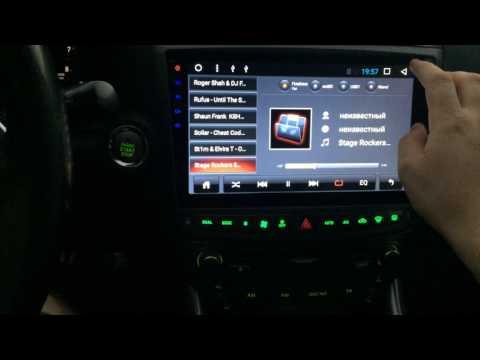 Небольшой обзор магнитолы Lexus IS250