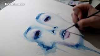 getlinkyoutube.com-Lee SooHyuk [Watercolor Painting]