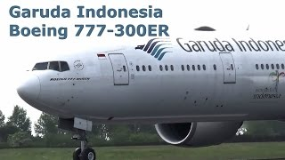 getlinkyoutube.com-Garuda Indonesia Boeing 777-300ER