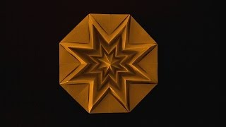getlinkyoutube.com-Christmas Origami Instructions: Star Infinity (Francesco Guarnieri)