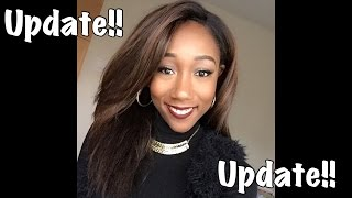 getlinkyoutube.com-Freetress Equal Lace Wig Update | Jannie