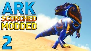 getlinkyoutube.com-[2] Rideable Jerboa and Mystic Giganotosaurus! (ARK Scorched Earth Modded Survival)