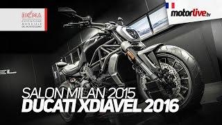getlinkyoutube.com-SALON MILAN 2015 | DUCATI XDIAVEL 2016 - EICMA
