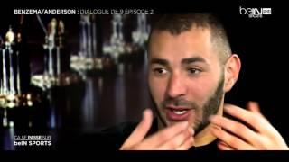 getlinkyoutube.com-Karim Benzema avec Sonny Anderson sur Beinsport HD interview 2015