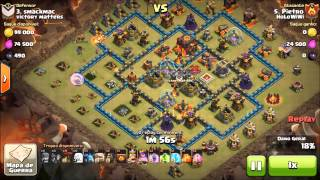 HoLoWiWi - Player marinaul - War 075 - 6 TH10 3 Stars against victory matters