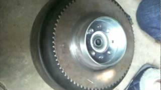 installing band brake on go kart