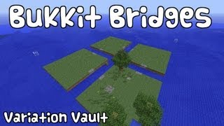 "getlinkyoutube.com-Minecraft Bukkit Plugin - Bukkit Bridges - ""like the walls but with bridges!"" Easy to use!"