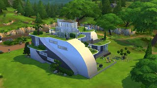 getlinkyoutube.com-The Sims 4 - Futuristic House Building