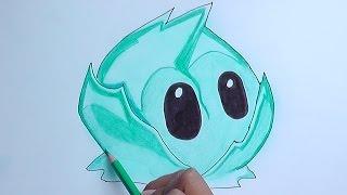 getlinkyoutube.com-Dibujando a la Lechuga Iceberg (plantas vs zombies) - Drawing the Iceberg Lettuce