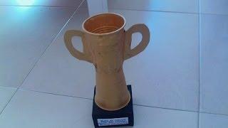 getlinkyoutube.com-Trofeo con 2 vasos de plastico muy facil