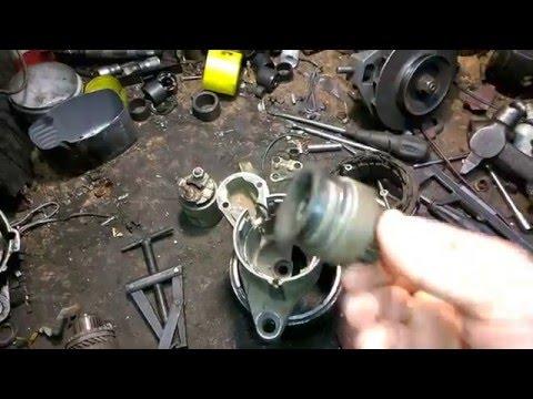 Снятие и дефектовка стартера Jeep Grand Cherokee 4.7 V8
