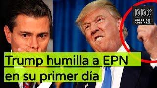 getlinkyoutube.com-Trump humilla a EPN en su primer día.