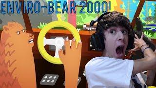getlinkyoutube.com-UN ORSO CHE GUIDA LA MACCHINA?! :'D - Enviro-Bear 2000