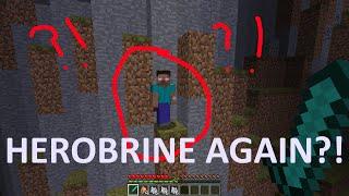 getlinkyoutube.com-Herobrine is back AGAIN?! Minecraft JUNE 2016 FAKE Herobrine sighting!