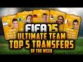TOP 5 TRANSFERS OF THE WEEK! - KROOS, LUÍS, MARKOVIĆ, ITURBE, DEBUCHY!   FIFA 15 Ultimate Team