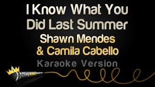 getlinkyoutube.com-Shawn Mendes & Camila Cabello - I Know What You Did Last Summer (Karaoke Version)