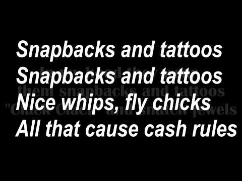 Driicky Graham - Snapbacks and Tattoos Official Lyrics