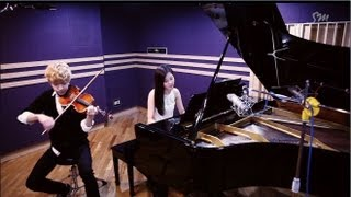 getlinkyoutube.com-Henry 헨리_Playing 'TRAP' Violin & Piano ver. with SeoHyun 서현 of Girls' Generation