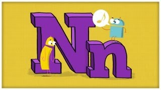 "getlinkyoutube.com-ABC Song: The Letter N, ""You Need an N"" by StoryBots"