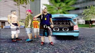 getlinkyoutube.com-GTA SA / Role com MC's / Gol G3 na FIXA+ Funk♠Gravão