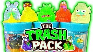 getlinkyoutube.com-Trash Pack Series 7 JUNK GERMS Best Trashies Ever 5 &12 Pack Unboxing Toy Review