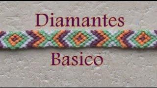 getlinkyoutube.com-Pulsera de Hilo: Diamantes Basico es.PandaHall.com